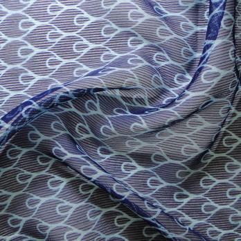 Chiffon Dobby Stripe E. Orvalho