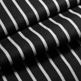 Malha Jacquard Stripe