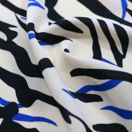 Milan E. Zebra Stripes