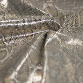 Linho Foil Snake Glam