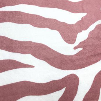 Malha Suede Soft E. Zebra
