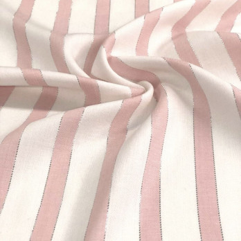 Rayon Stripe Lurex Fashion