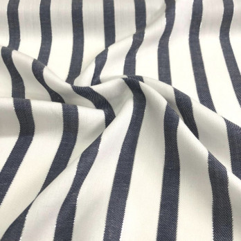 Rayon Stripe Lurex Fashion